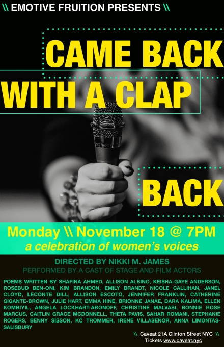 Clap Back Poster EDIT